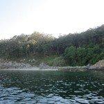 Islas da San Martin at high tide