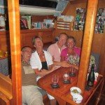 Jon Lister with Lorraine and Paul