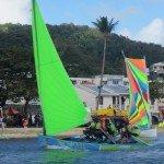 Beaching the boats