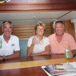 On board Desiderata with Julia and Stuart