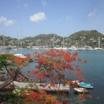 View from Grenada Yacht Club's Spout Bar