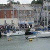 Rugged up in Padstow