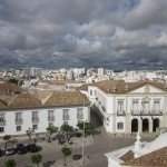 Storm clouds gathering over Faro