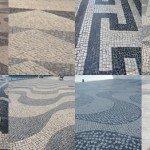 Mosaics of Lisbon's pavements