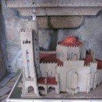 Model of St John the Baptist Church in Panxon