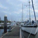 Town pontoon at Portimao