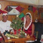 Christmas on board Ocean Rainbow