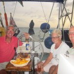 Liz and Peter from s/y Saphire