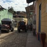The cobbled streets of Trinidad