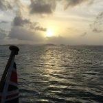 Sunset over Moha Bay